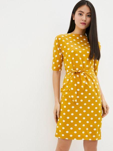 Платье прямое желтый Gabriela