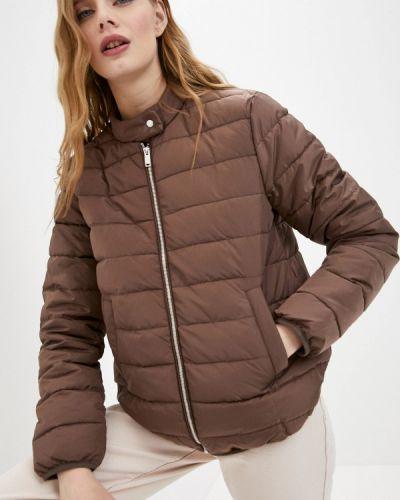 Утепленная куртка - коричневая Befree