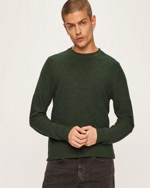 Sweter na gumce srebro Premium By Jack&jones