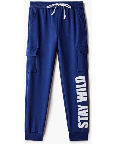 Синие спортивные брюки Elaria