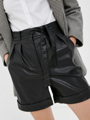 Черные турецкие шорты Lusio
