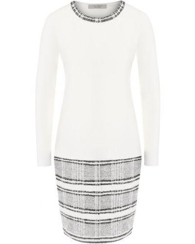 Платье с вырезом шерстяное D.exterior
