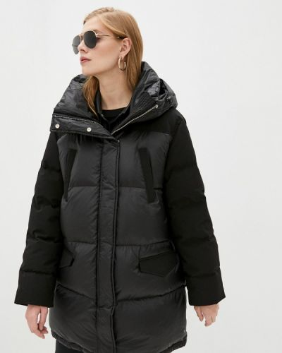 Черная зимняя куртка The Kooples