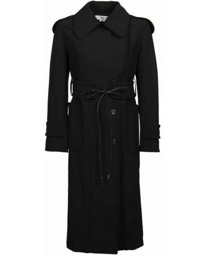 Płaszcz - czarny Victoria Beckham