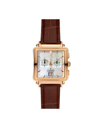 Часы швейцарские белые Charmex