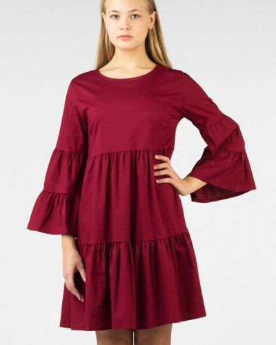 Платье бордовый красный Intrico