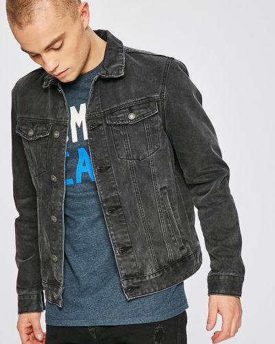 Джинсовая куртка утепленная на пуговицах Review