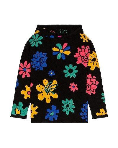 Bluza w kwiaty - czarna The Elder Statesman