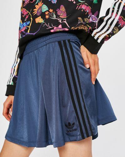 Юбка мини на резинке Adidas Originals