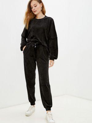 Черный спортивный костюм летний Gloss