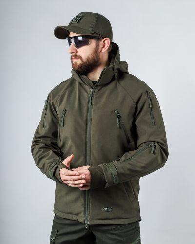 Куртка милитари - зеленая Fct Design