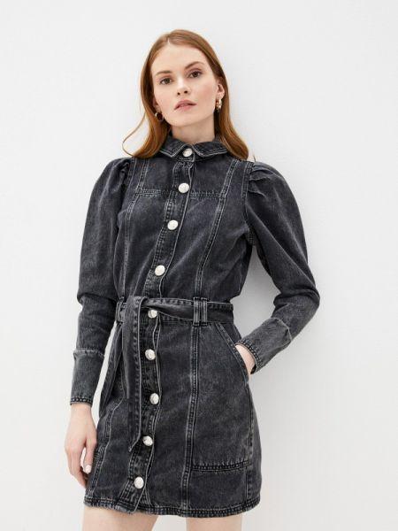 Серое джинсовое платье River Island