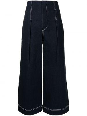Расклешенные синие с завышенной талией джинсы Alice Mccall