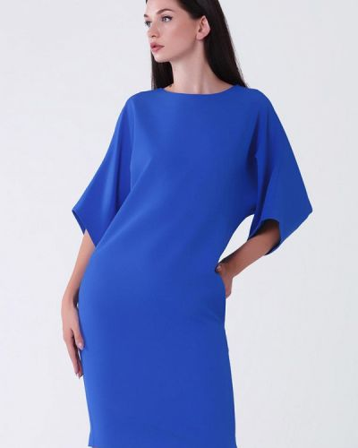 Платье весеннее синее My Atelier