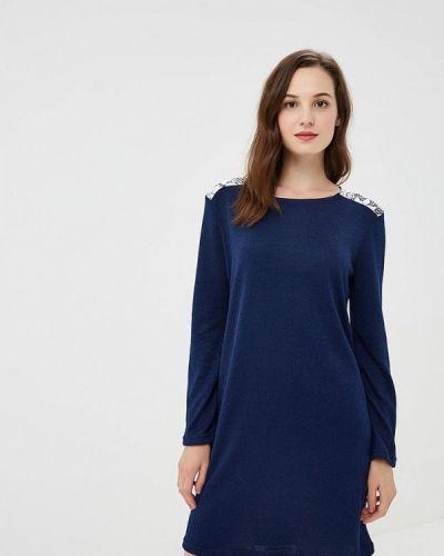 Платье - синее Nemes