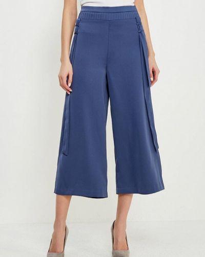 Свободные брюки укороченные весенний Lost Ink.