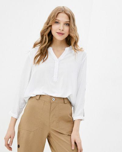 Белая блузка с длинными рукавами Luhta