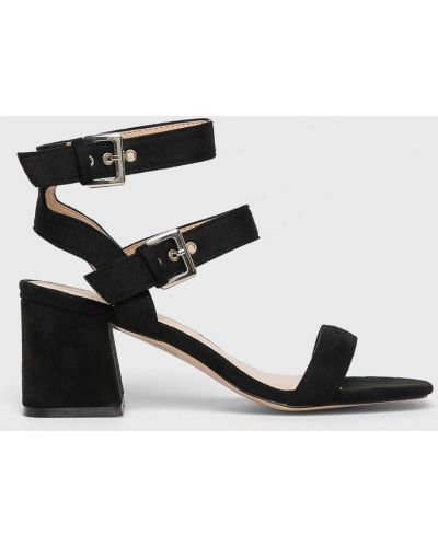 Туфли на каблуке черные Public Desire