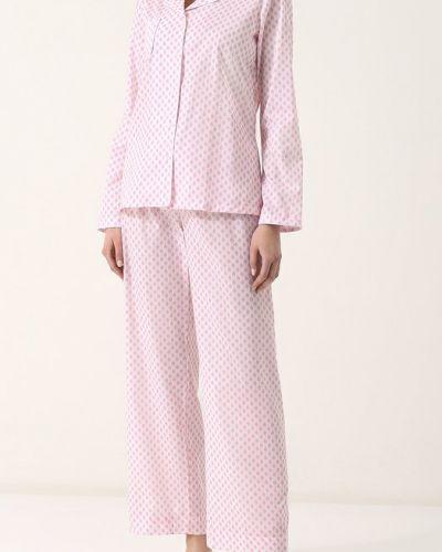 Пижама с брюками на пуговицах свободная Derek Rose