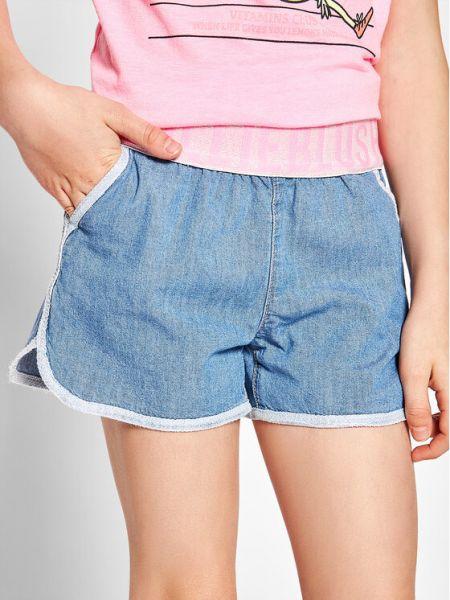 Niebieskie szorty jeansowe Billieblush