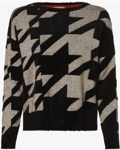 Klasyczny czarny sweter oversize Street One