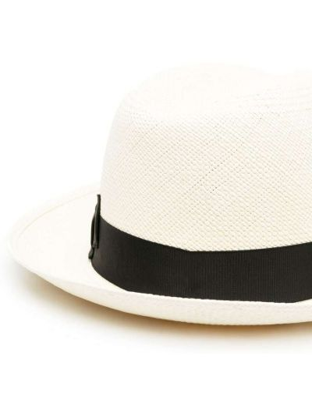 Czarny kapelusz Borsalino
