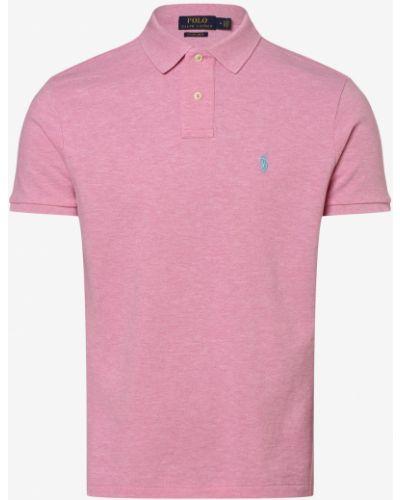 Różowy t-shirt Polo Ralph Lauren