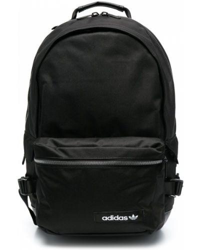 Czarny sport plecak Adidas