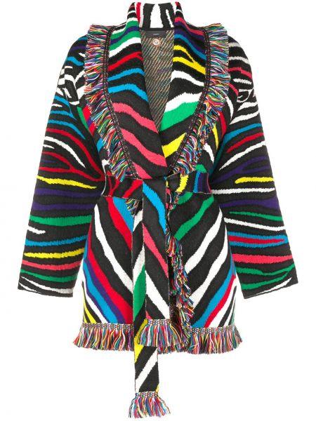 Długi płaszcz krótki wełniany Alanui