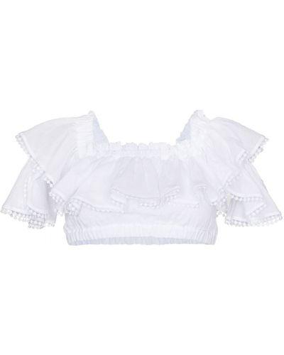 Biała koszulka krótki rękaw Charo Ruiz Ibiza
