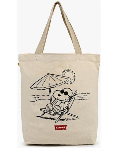 Текстильная сумка - белая Levi's®