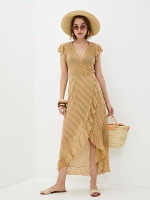 Пляжное платье - золотое Dali