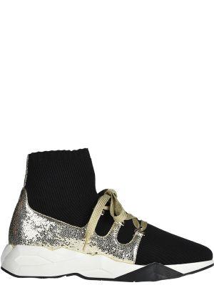 Черные кроссовки Loriblu