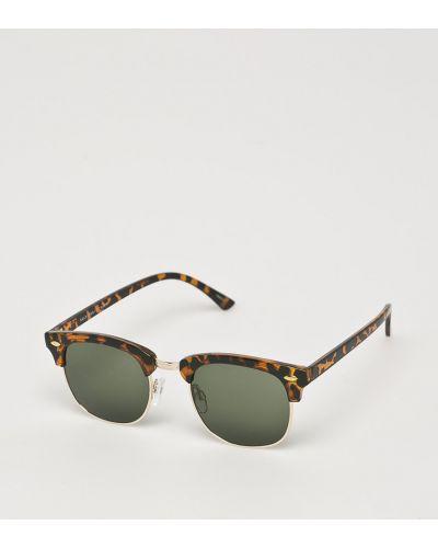 Солнцезащитные очки стеклянные коричневый Selected