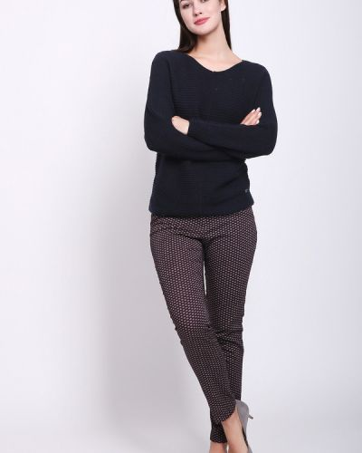 Хлопковые брюки - фиолетовые Steilmann
