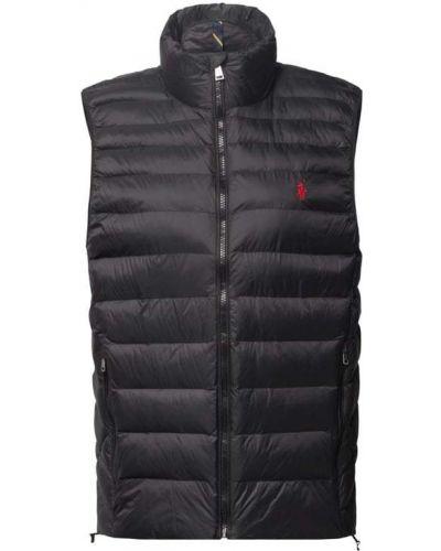 Kamizelka pikowana - czarna Polo Ralph Lauren