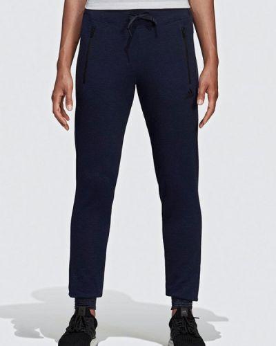 Спортивные брюки весенний синие Adidas
