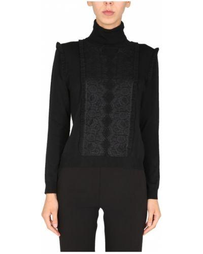 Czarny sweter Anna Molinari