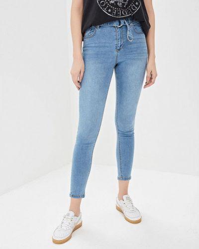 Зауженные джинсы - голубые Jennyfer