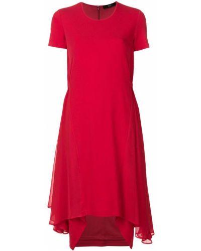Платье мини короткое - красное Steffen Schraut