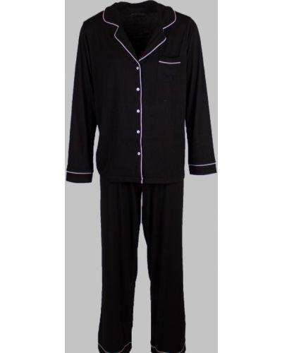 Пижама со штанами - черная Primark