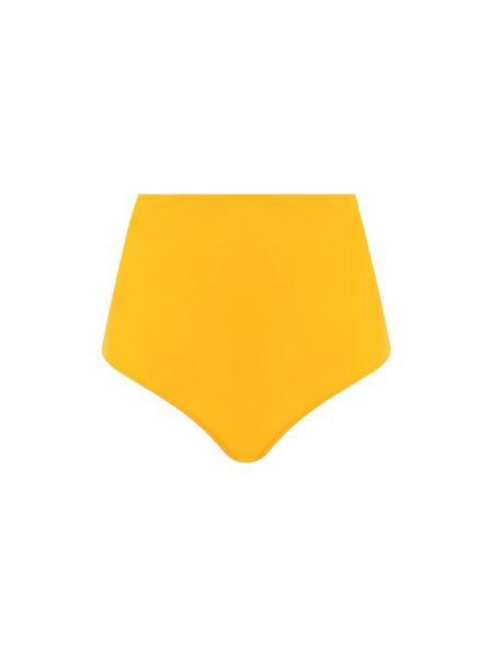 Желтый купальник раздельный эластичный Araks