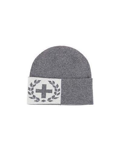 Серая шерстяная шапка Strellson