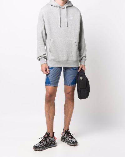Флисовое худи - серое Nike
