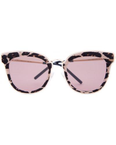 Солнцезащитные очки кошачий глаз металлические Jimmy Choo  (sunglasses)