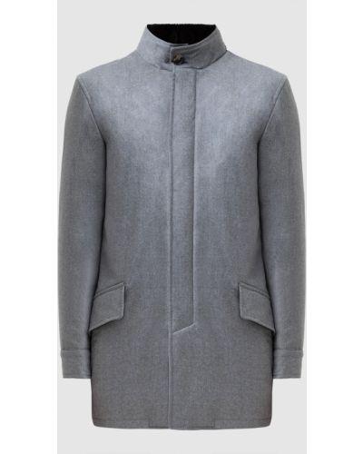 Шерстяная куртка - серая Isaia