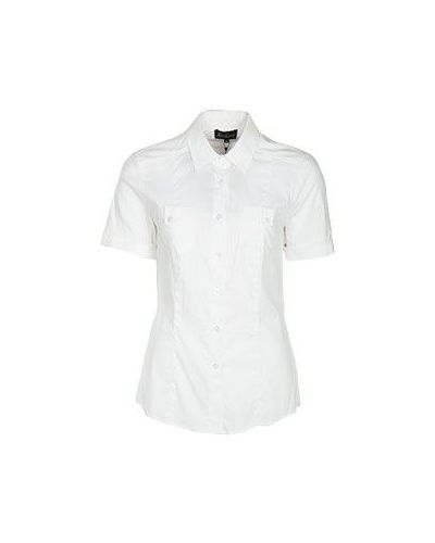 Белая блузка Luisa Spagnoli