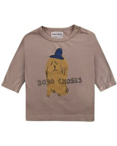 Brązowa czapka Bobo Choses