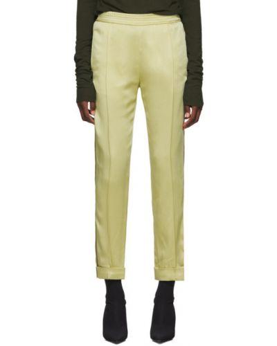 Брюки на резинке в полоску брюки-хулиганы Haider Ackermann