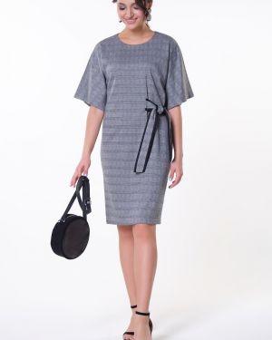 Платье мини в клетку платье-сарафан Valentina